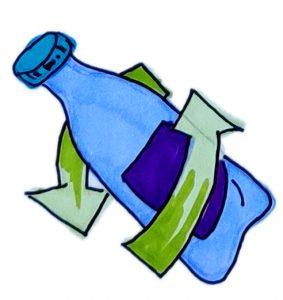 centru colectare si reciclare - reciclarea recipientelor tip PET