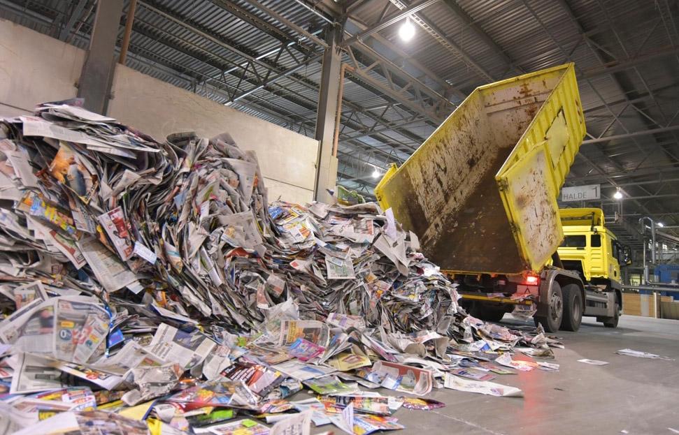 centru pentru colectare si reciclare hartie