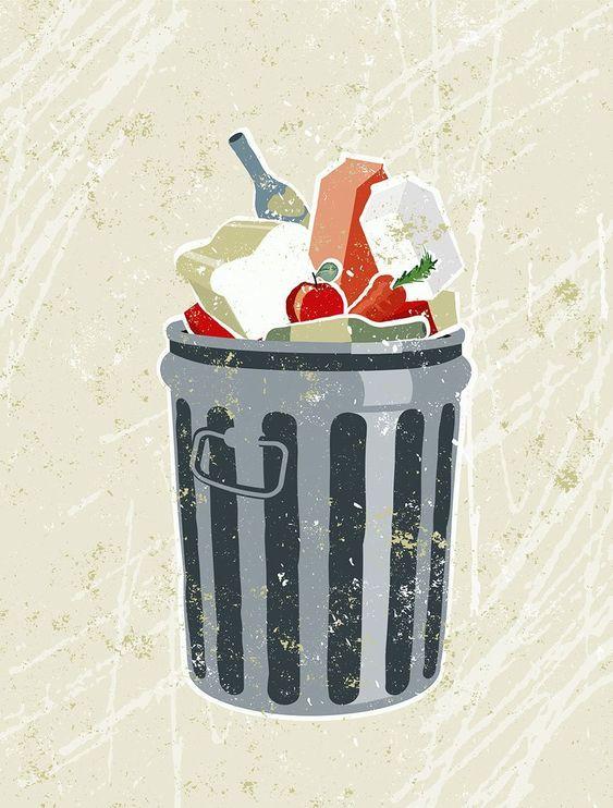 mult gunoi amestecat
